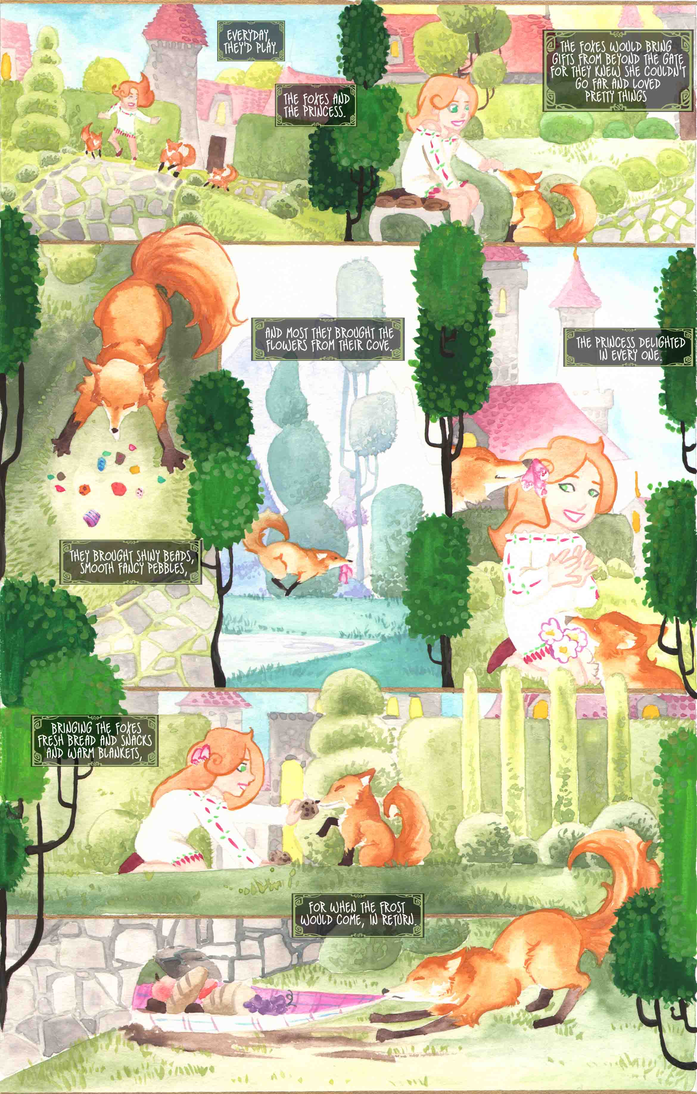 She Ran with Foxes 2