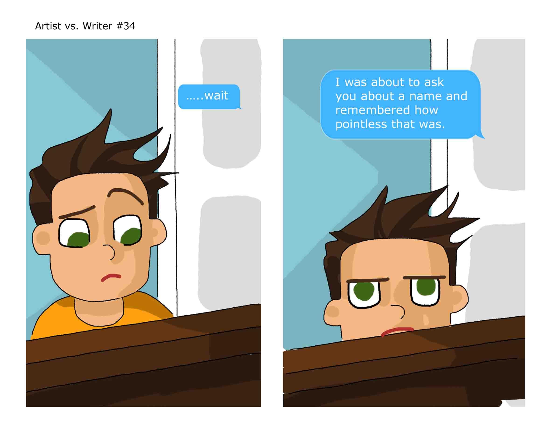 Artist vs. Writer 34