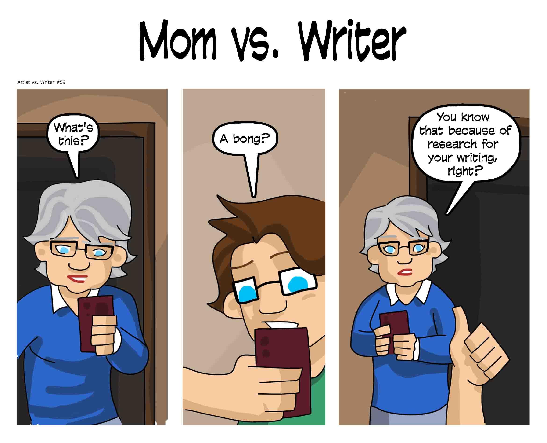 Artist vs. Writer 59