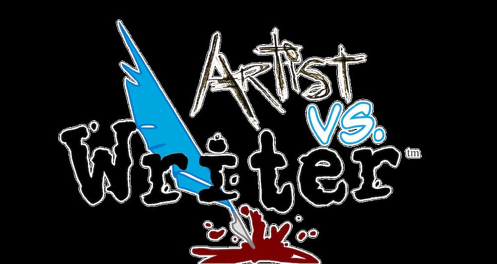 Artist vs Writer logo