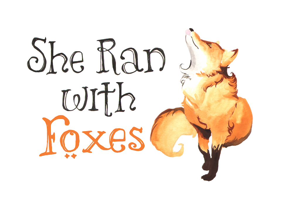 She Ran with Foxes logo