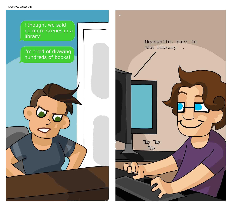 Artist vs. Writer 65